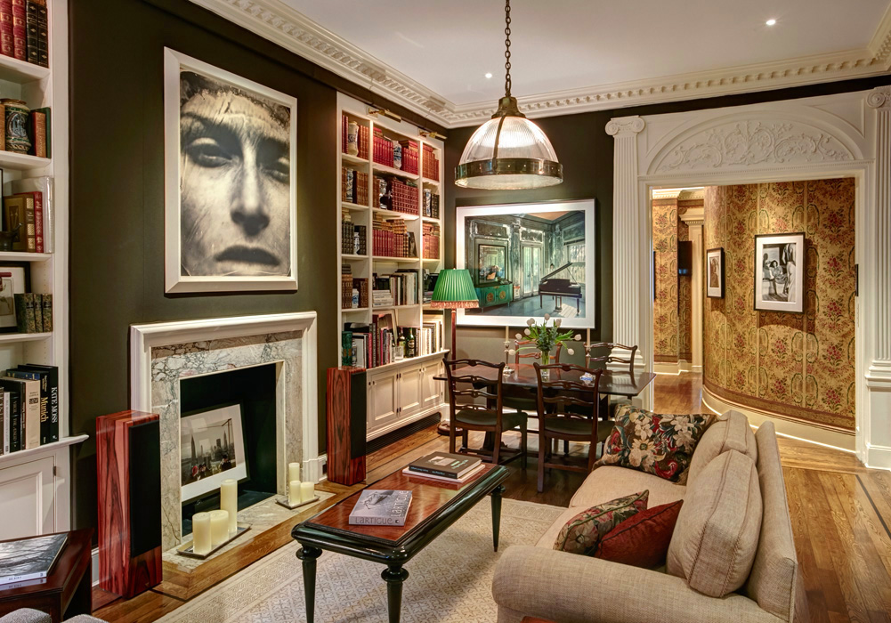 New york townhouse new york city residential interior for Home design york