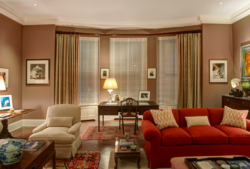 New york townhouse new york city residential interior for Residential decorating